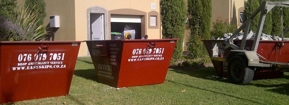 EasySkips garden waste removal